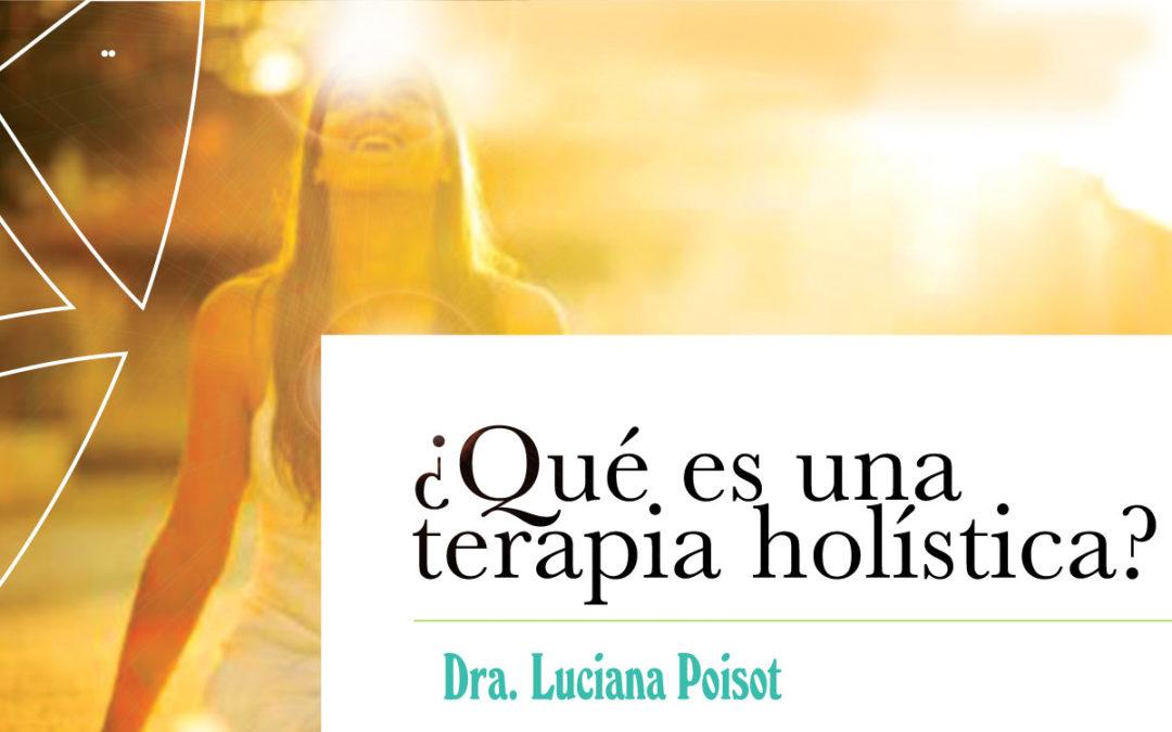 ¿Qué es una terapia holística?